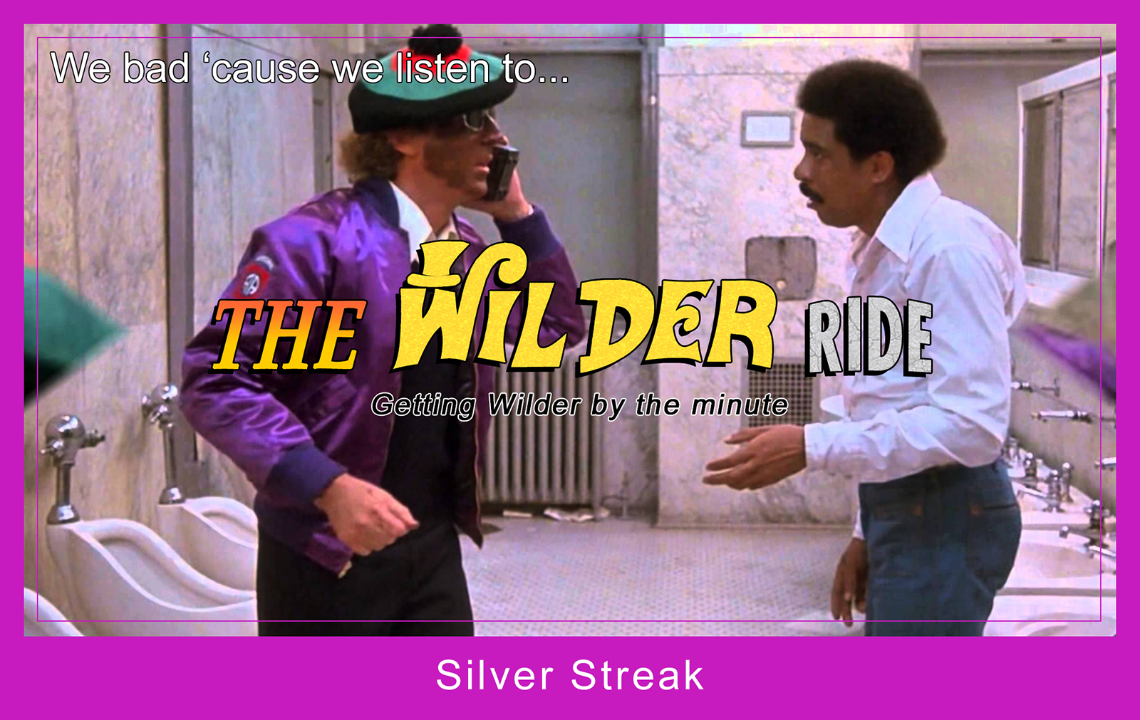 Patreon - Gene Wilder - Silver Streak with Richard Pryor - Trading Card