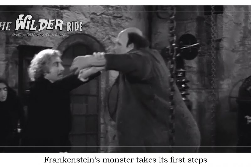 Young Frankenstein Episode 55: Freddy takes his pet for a walk