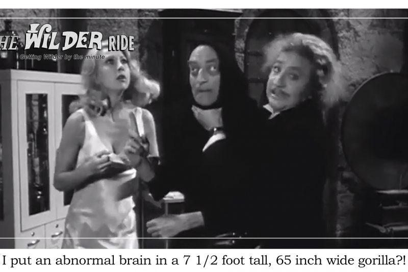 Young Frankenstein Episode 59: Inspector Kemp arrives for a little shat