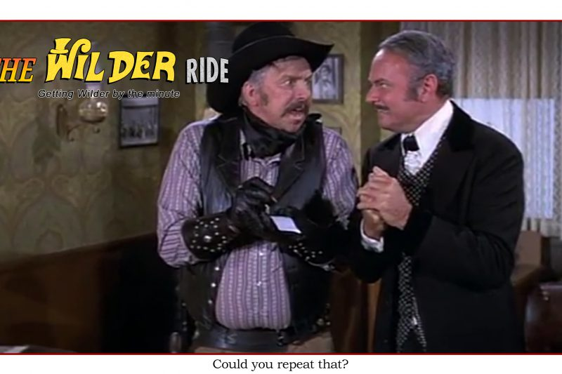 Blazing Saddles Episode 69: Could you repeat that?