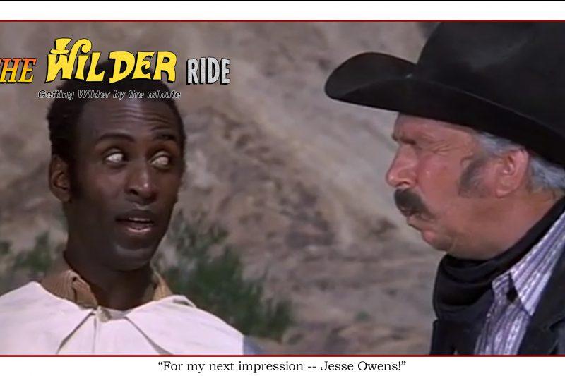 Blazing Saddles episode 74: For my next impression, Jesse Owens