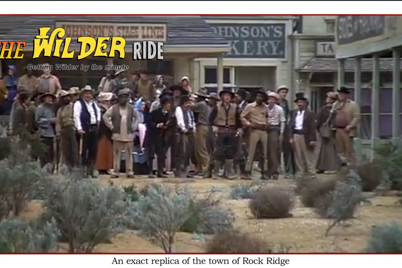 Blazing Saddles episode 78: An exact replica of the town of Rock Ridge