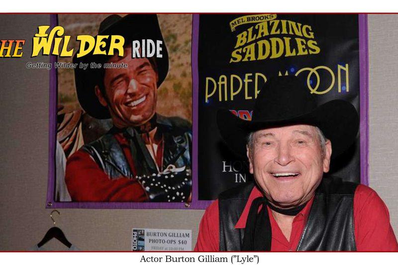 Blazing Saddles Bonus: Interview with actor Burton Gilliam