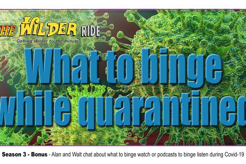 What to Binge While Quarantined